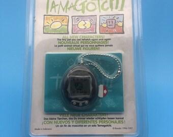 Tamagotchi, original packed Bandai in 1997, black,