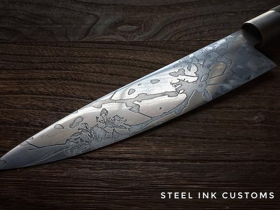 personalized chefs knife japanese 8 kitchen knife. Black Bedroom Furniture Sets. Home Design Ideas