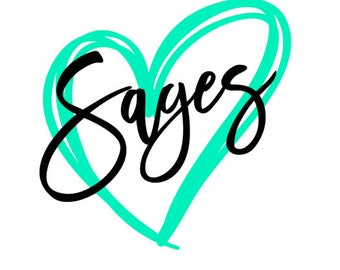Sages Heart SVG