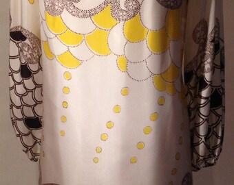Tsunami swirl classic 60s dress