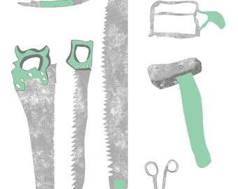 A4 Tools print