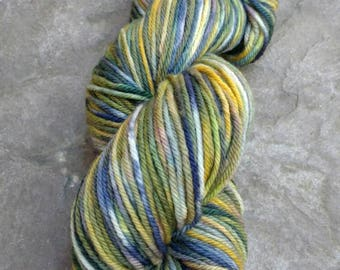 Hand dyed Yarn - Worsted 4oz - Justine