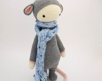 Rada the rat from pattern by Lalylala