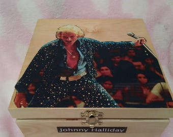 Johnny Hallyday keepsake box