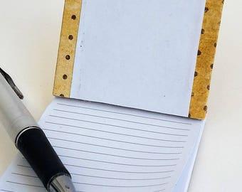 bloc-notes 50 pages 8,5 x 6,5 cm