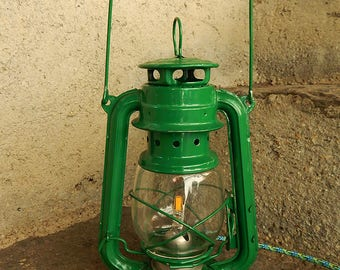 Green storm electrified lamp!