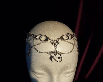 New Luciferian Era Tiara - lucifer eyeofhorus horus egypt occult  sigiloflucifer  satanic freedom witch