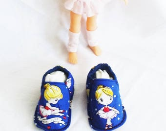 Slippers washable dancer, lightweight and comfortable T:23 / 24