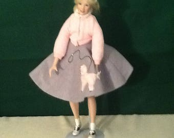 Porcelain doll, Vintage doll, Knowles Peggy Sue, Collectable