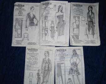 Lot 5 women's patterns