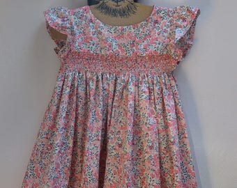 Dress liberty wiltshire scent and smocking dots