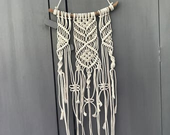 Hang in there - macrame wall hanging