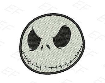 Jack Skellington embroidery design - Nightmare before Christmas embroidery - instant download digital file