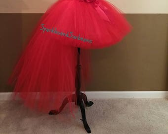 HI LO Tutu Skirt Christmas Orders Available Fully LINED
