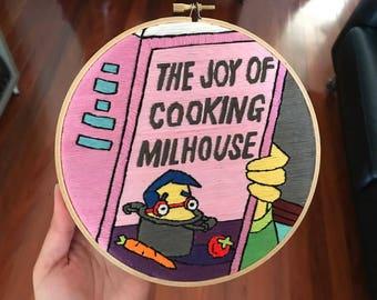 Milhouse - The Joy of Cooking Milhouse