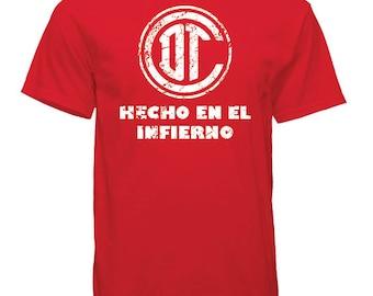 Toluca - Hecho En El Infierno - Soccer - Tshirt
