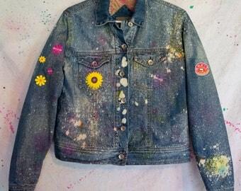 Hippy Chick Acid Jacket