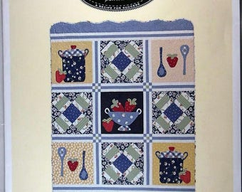 "Quilting Pattern - ""We Be Jammin'"""