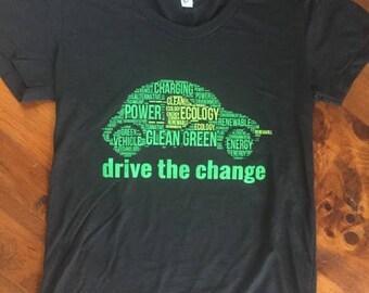 Women's T-Shirt - Drive the Change - Electric vehicle T-Shirt