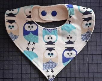 Bavouillon adjustable blue owls