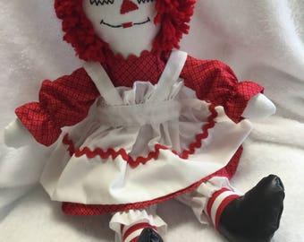 """Raggedy Ann doll 15"""""""