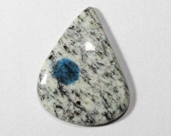K2 Blue Jasper cabochon  33CT{31x25} mm#300