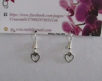 earring type heart B8
