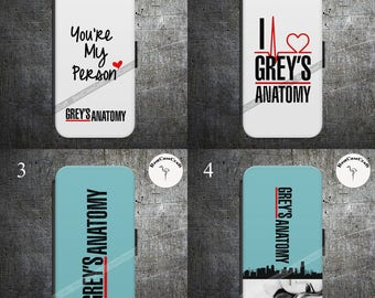 GRAY'S ANATOMY Flip Wallet Case Cover for Samsung and iPhone Models