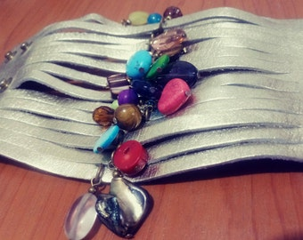 Colored Stones Bracelet