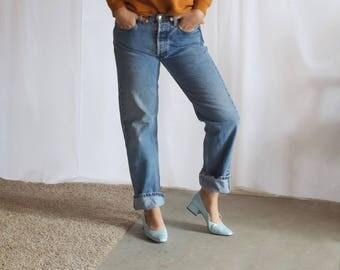 vintage 90s guess jeans sweater / vintage guess jeans  logo sweater / guess jeans crewneck pullover / xs / s / m / l