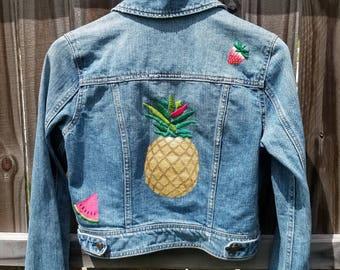 Golden Pineapple Fruit Jacket