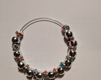 Metallic Rainbow Bracelet