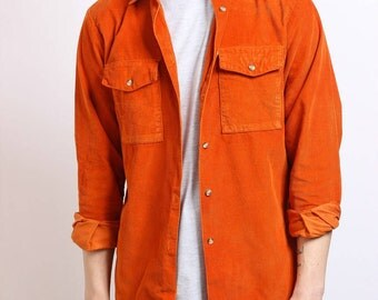 Vintage Corduroy Shirt Cord 1990s