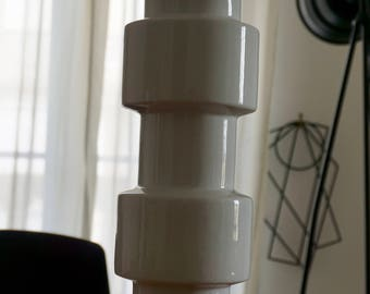 Vase en céramique esprit 70