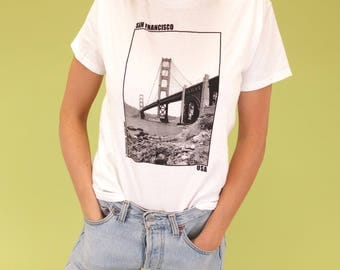 SF LADIES! Amazing find vintage San Francisco tee SIZE S-M