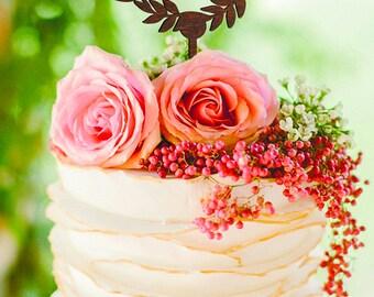 Wedding cake topper Z Wooden Cake Topper letter Z Initial Cake Topper Rustic cake topper wood Single Letter cake toppers Gold Monogram cake