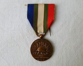UNC Union national des fighters 1st World War medal - MM66