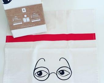 Frida & Diego Towel