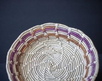 Woven 3 toned basket / bowl