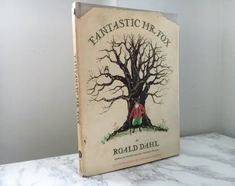 Fantastic Mr. Fox by Roald Dahl (1970 First Edition)