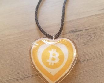 Heart belongs to Bitcoin