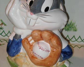Bugs Bunny Baseball Cookie Jar