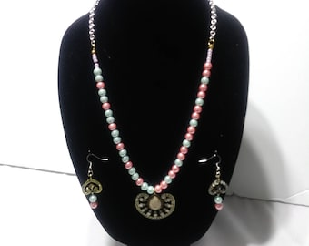 Handmade Multi-Color Necklace Set