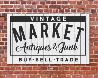 Vintage Market Sign, Magnolia Farms SVG, Antiques SVG, Joanna Gaines, Digital File, DXF, Cuttable, Print, Cut File, Silhouette Cameo
