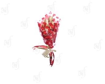 Ferrero Rocher Chocolate Bouquet Valentine's Gift Rose Bouquet Flowers