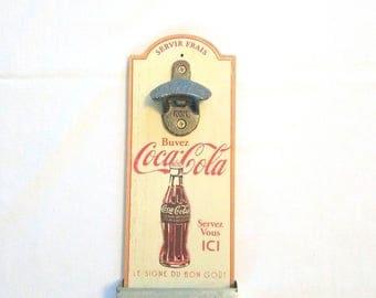 Vintage coca-cola bottle opener, coca-cola bottle opener Vintage bottle opener
