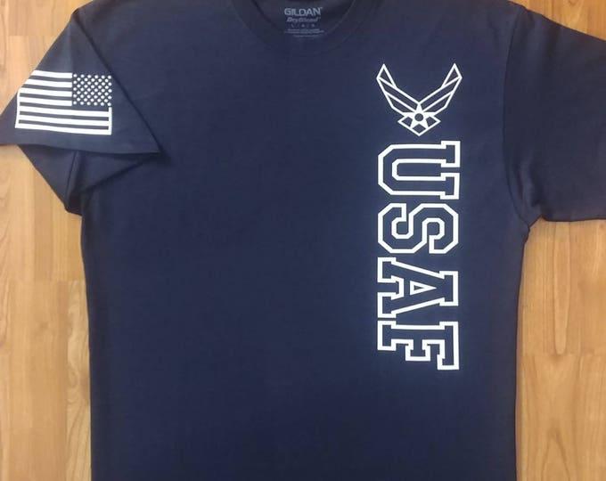Air Force - Air Force Veteran - Air Force Shirt Women - Air Force Shirt Men - Air National Guard - Air Force Wife - Unisex Shirt - Veteran