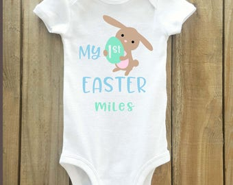 My first easter shirt, easter shirt, boys easter shirt, first easter, 1st easter shirt, boys first easter shirt, boys easter outfit, easter