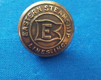 Eastern Steamship Lines Inc. Officers Coat Button