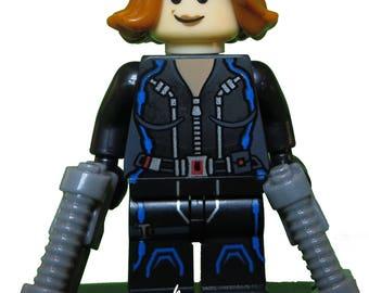 Black Widow Custom LEGO